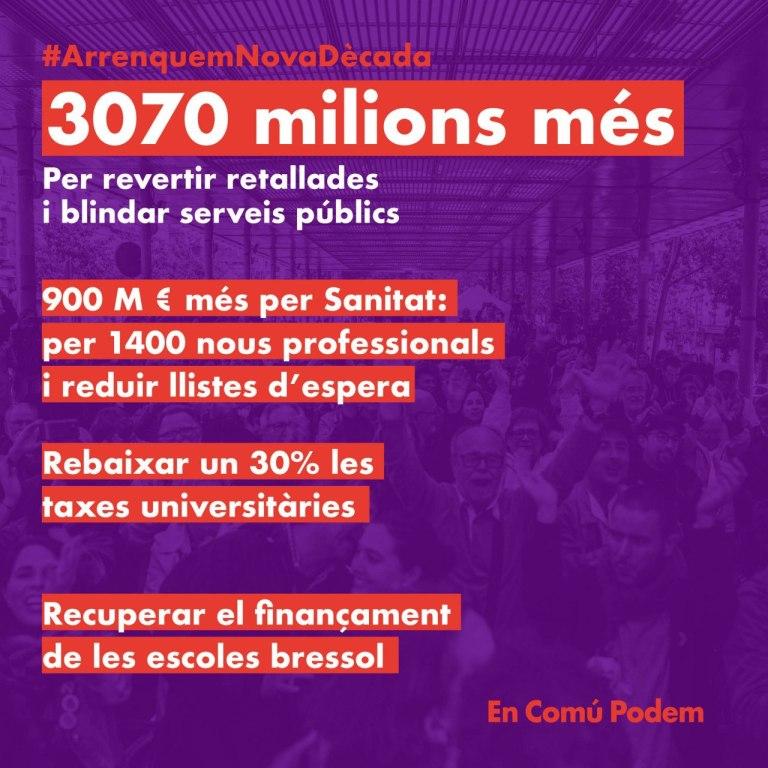 Acord de pressupostos de la Generalitat