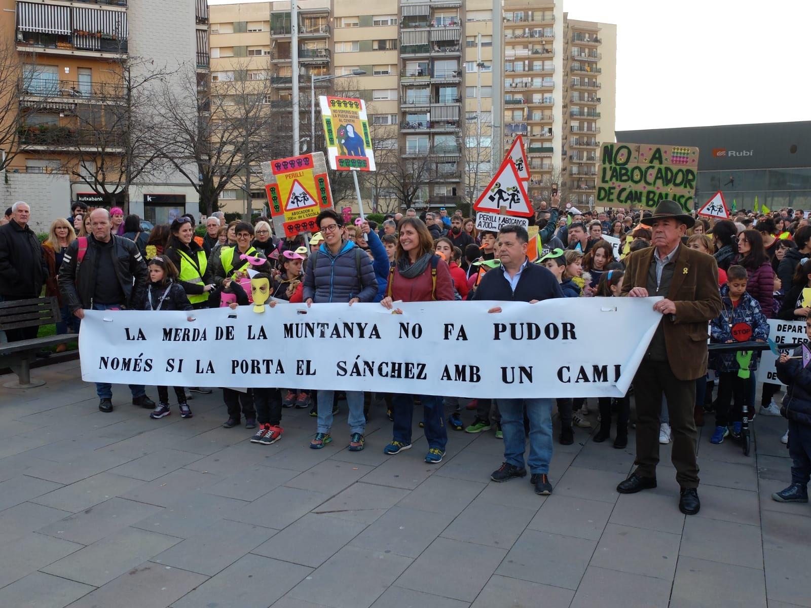 Rubí no vol ser la ciutat amb més abocadors de Catalunya