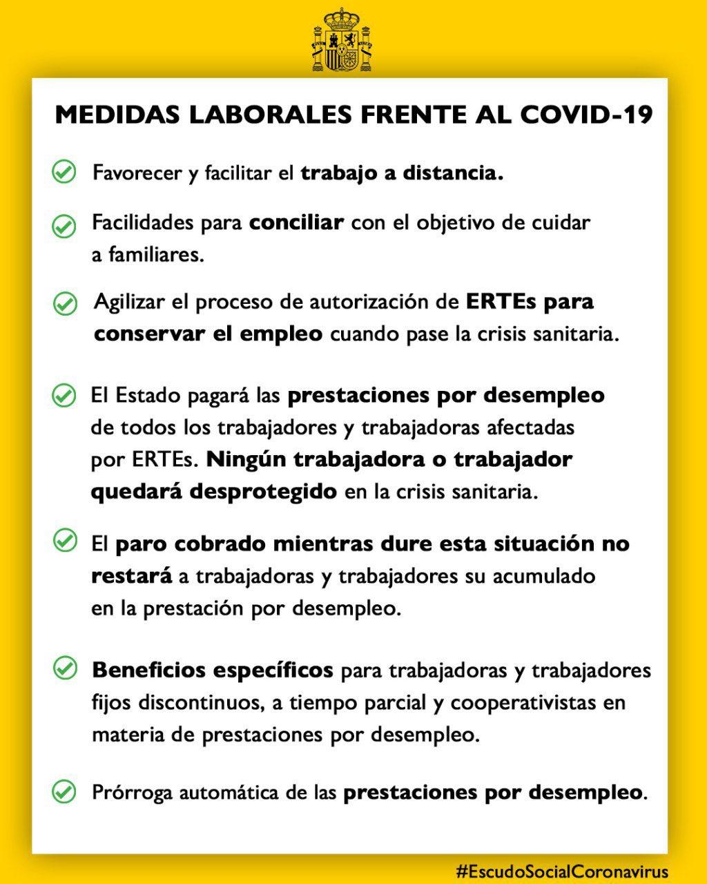 El Gobierno moviliza 18.225 millones contra el coronavirus con créditos, moratoria fiscal y ayudas