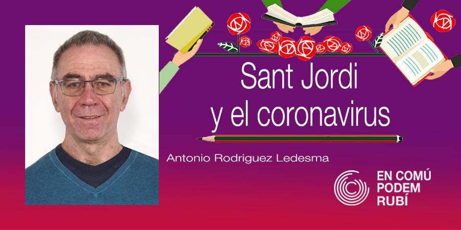 Sant Jordi y el  Coronavirus