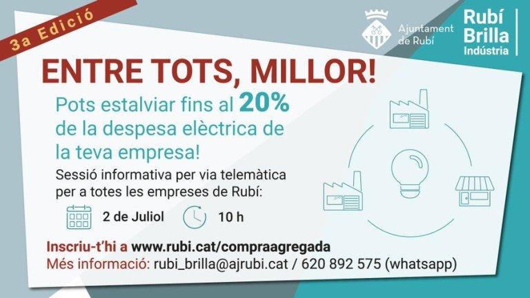 GRUP DE COMPRA AGREGADA D'ENERGIA RUBÍ BRILLA