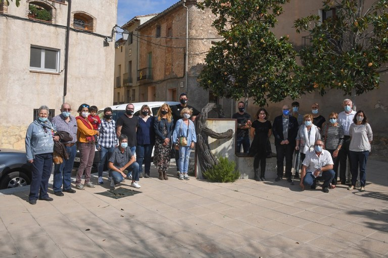 Rubí i Els Guiamets, localitat natal de Neus Català, oficialitzen el seu agermanament