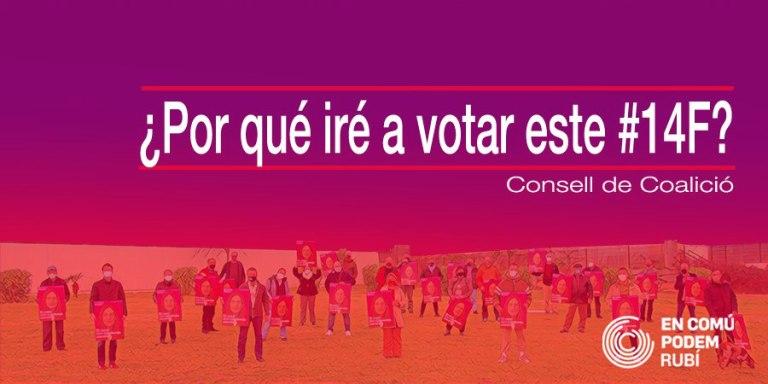 ¿Por qué iré a votar este #14F?