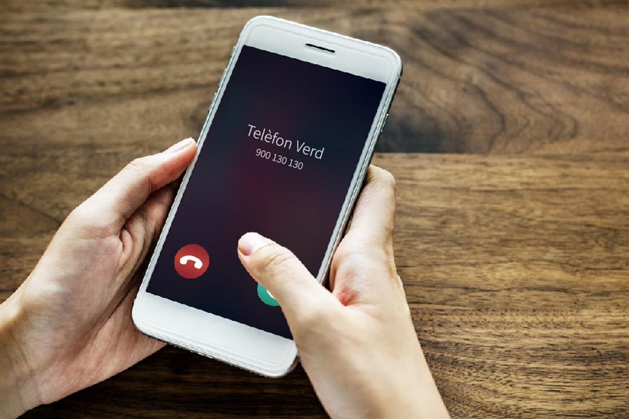El Telèfon Verd rep prop de 10.000 trucades durant el 2020