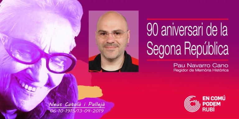 90è aniversari de la proclamació de la Segona República