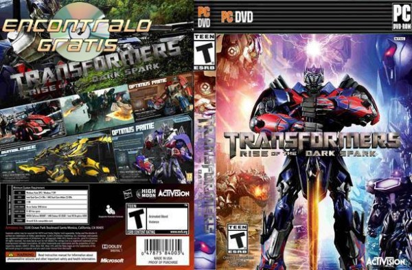 Descargar Transformers Rise of the Dark Spark PC 1 link