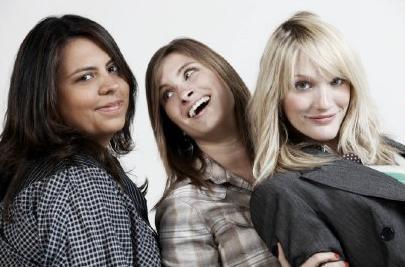 As Sócias: Samantha, Daniela e Carla