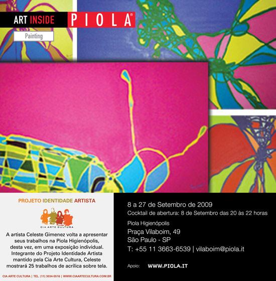 Celeste Gimenez   curadoria: Cia Arte Cultura