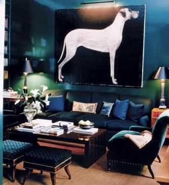 Oversized_great_dane_painting_living_room