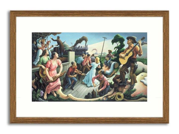 The Source of Country Music by Thomas Hart Benton