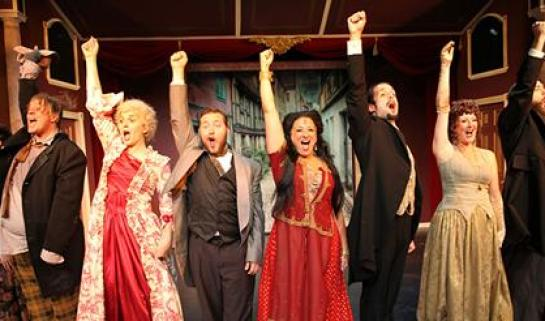 """The cast of """"Drood."""""""