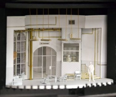 """Set design by Tony Award winner (for """"August: Osage County"""") Todd Rosenthal."""