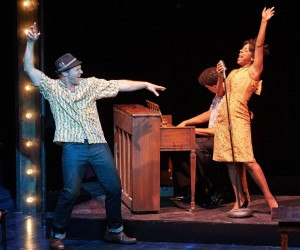 """Travis Smith, Naima Carter Russell in """"Memphis."""""""