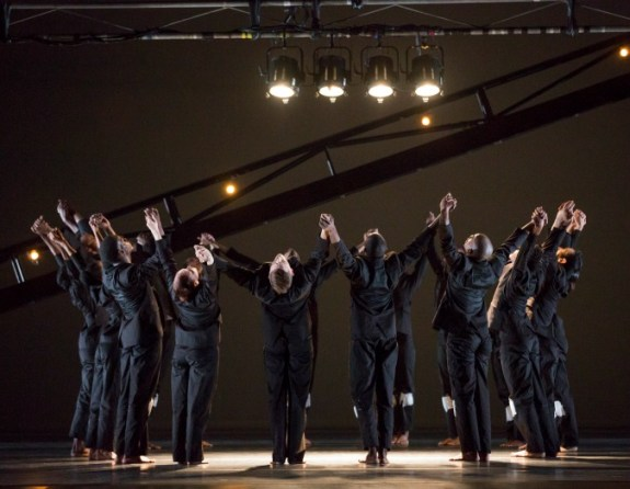 "The Ailey dancers perform Robert Battle's ""No Longer Silent."""