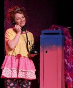 Ashley Anderson as Fancy Nancy. Photo: BreeAnne Clowdus