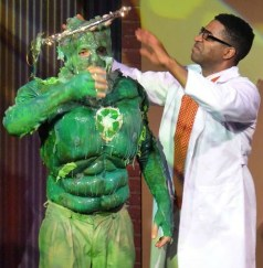 "Horizon's ""Toxic Avenger"": Nick Arapoglou (left) and Michael Stiggers."
