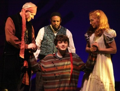 Jeff McKerley (from left), Spencer Stephens, Jeremiah Parker Hobbs and Molly Coyne. Photo: Dan Carmody, Studio 7