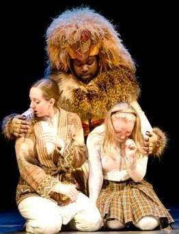 Lauren Boyd (from left), Enoch King, Allie Ficken. Photo: Greg Mooney