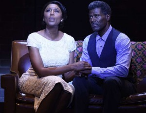 Nita Whitaker and Milton Craig Nealy as Mom and Pop Winans. Photo: Greg Mooney