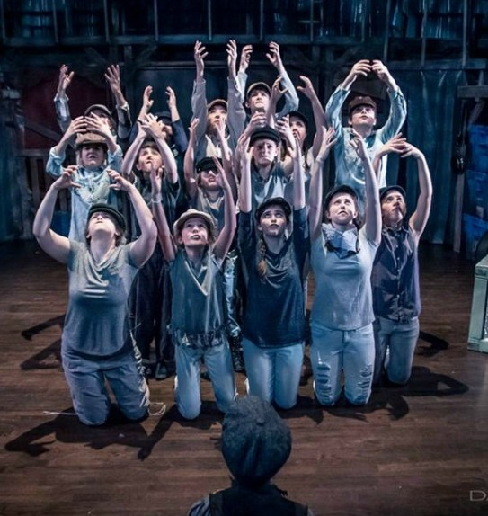 "The ""Oliver!"" ensemble. Photo: Daniel Parvis"