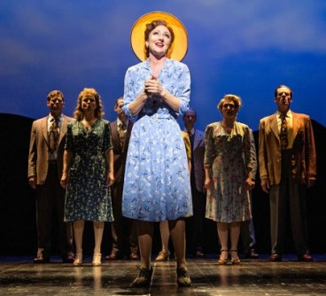 """Tony nominee Carmen Cusack in """"Bright Star."""" Atlanta audiences saw her at the Fox Theatre as Nellie Forbush in """"South Pacific"""" a few seasons ago. Photo: Sara Krulwich/The New York Times"""