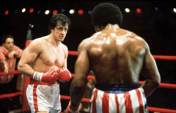 """""""Rocky,"""" with Sylvester Stallone and Carl Weathers, screens xxxxxxx. Photo: Fox Theatre"""