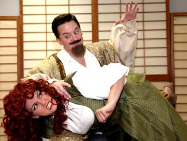 Paige Mattox as Kate / Lilli Vanessi and Bryant Smith as Petruchio / Fred Graham. Photo: R. Todd Fleeman
