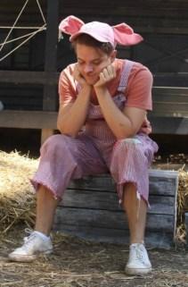 Andy Terwilliger as Wilbur. Photo: BreeAnne Clowdus
