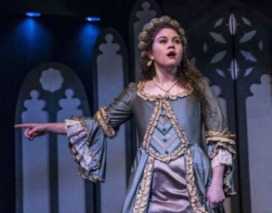 Brooke Owens as Anne Boleyn. Photo: Daniel Parvis