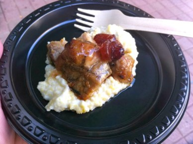 600p grilled pork tend w grits