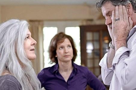 (left), Cynthia Barrett, Kevin Stilwell.