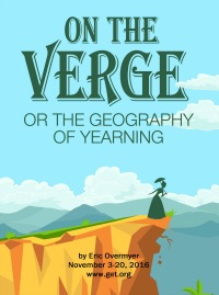 On The Verge poster 8x11 with author