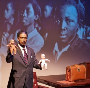 Geoffrey D. Williams as Thurgood Marshall. Photo: Chris Bartelski