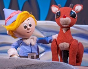 Hermey and Rudolph. Photo: Clay Walker