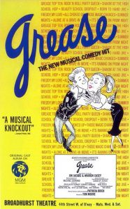 grease orig poster