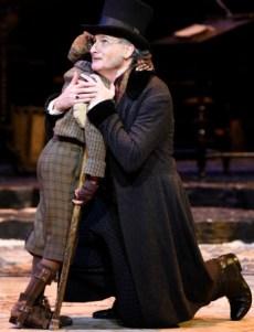 David de Vries as Scrooge. Photo: Greg Mooney