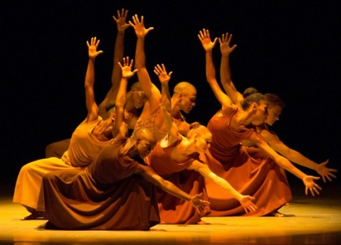 """The signature piece """"Revelations"""" will be danced at every Atlanta performance. Photo: Alvin Ailey American Dance Theater"""