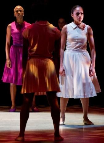 "Ailey dancers in Hope Boykin's ""r-Evolution, Dream."" Photo: Paul Kolnik"