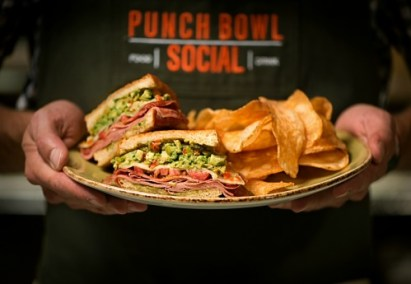 Fried bologna, anyone? Try the fra'mani sandwich at Punch Bowl Social.