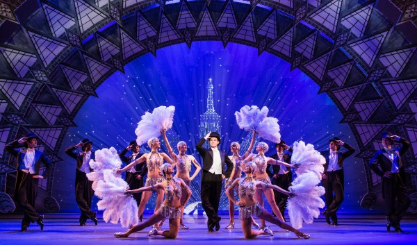 "The company, in all its splendor, in ""An American in Paris."" Photo: Matthew Murphy"