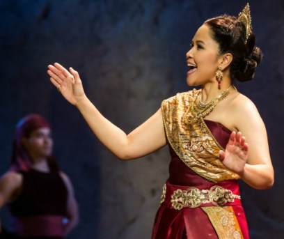 Lady Thiang (Joan Almedilla) is the King's No. 1 wife. Photo: Matthew Murphy.