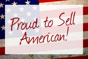 proud to sell american made in the usa