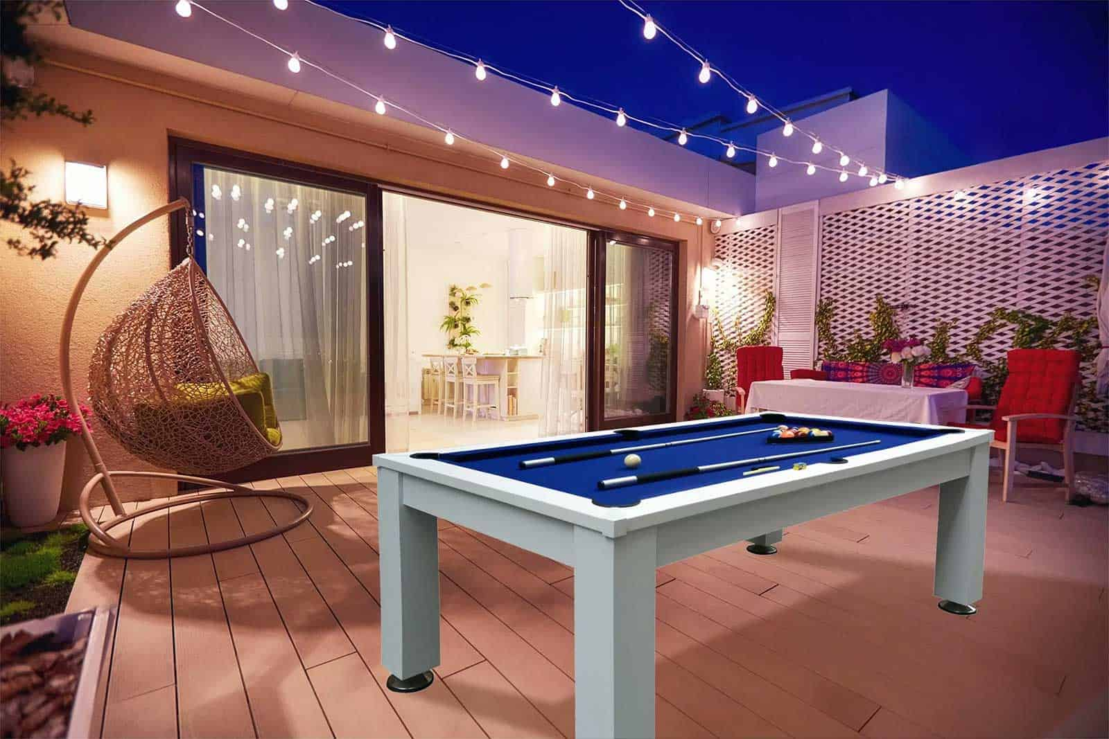 outdoor pool table imperial esterno