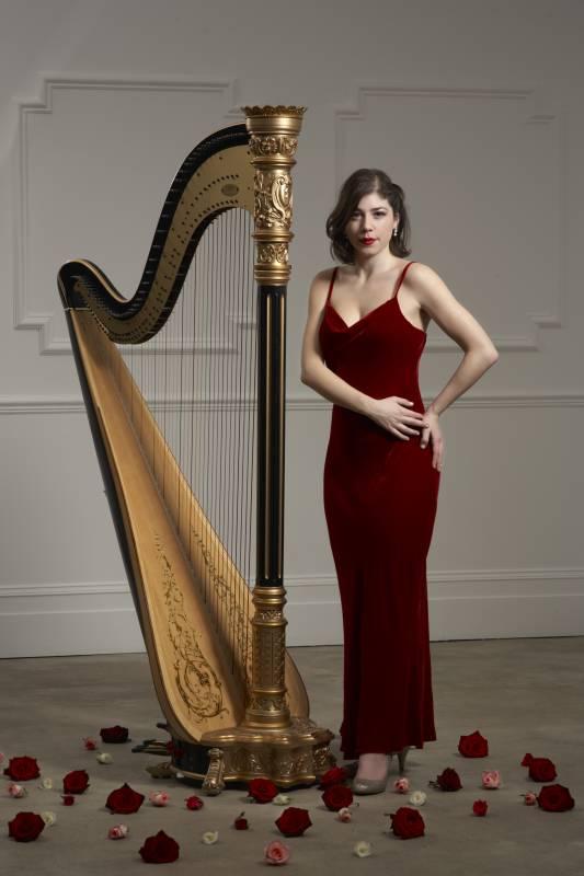 Katya Herman, Encore harpist