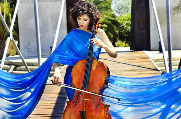 """""""After the Royal wedding, everyone wants a solo cellist."""" ~ Lidia Alonso, cellist available to hire through Encore"""