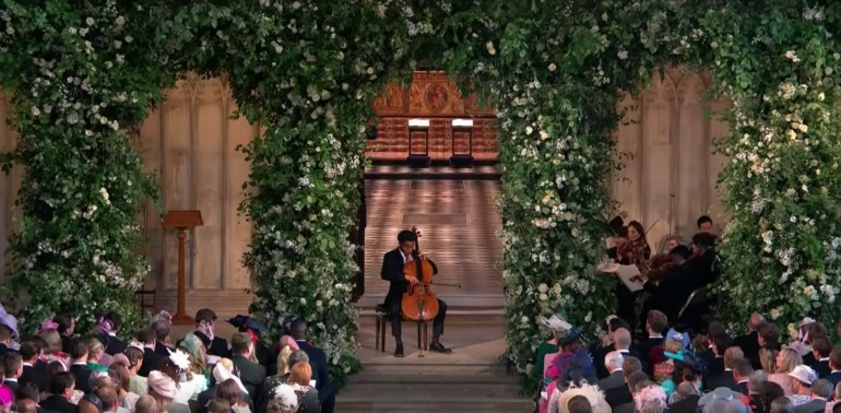 Sheku Kanneh-Mason at Royal Wedding
