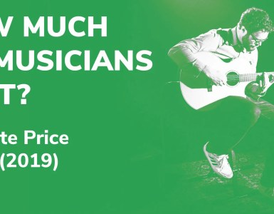 How much do musicians cost? 2019