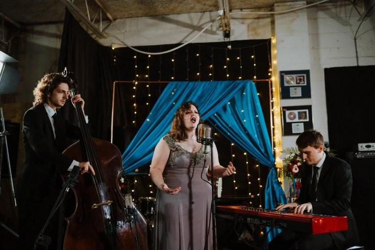 Decatur Jazz Trio performing