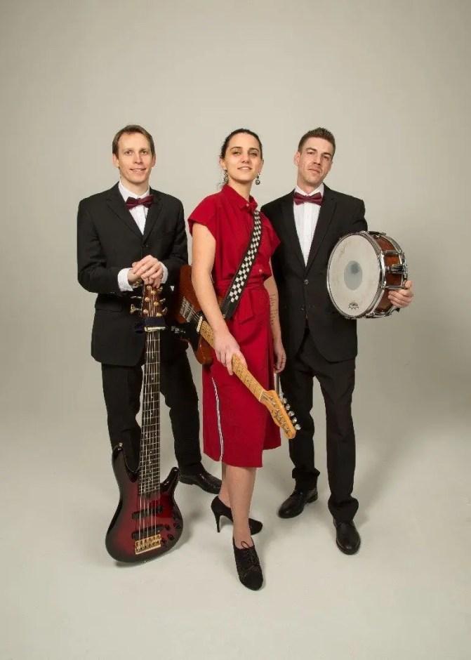 Giulia and the Lizards pop trio