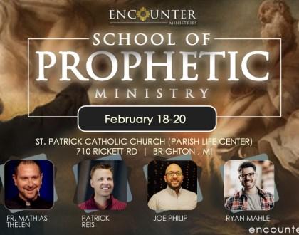 School of Prophetic Ministry 2021
